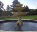 THREE TIER STATUARY POOL FOUNTAINS