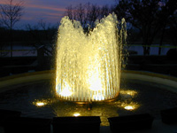 Fountain - Water Feature - Floating Fountain Portfolio